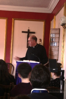 Bishop Brian joins Young People at Faith and Fun Retreat