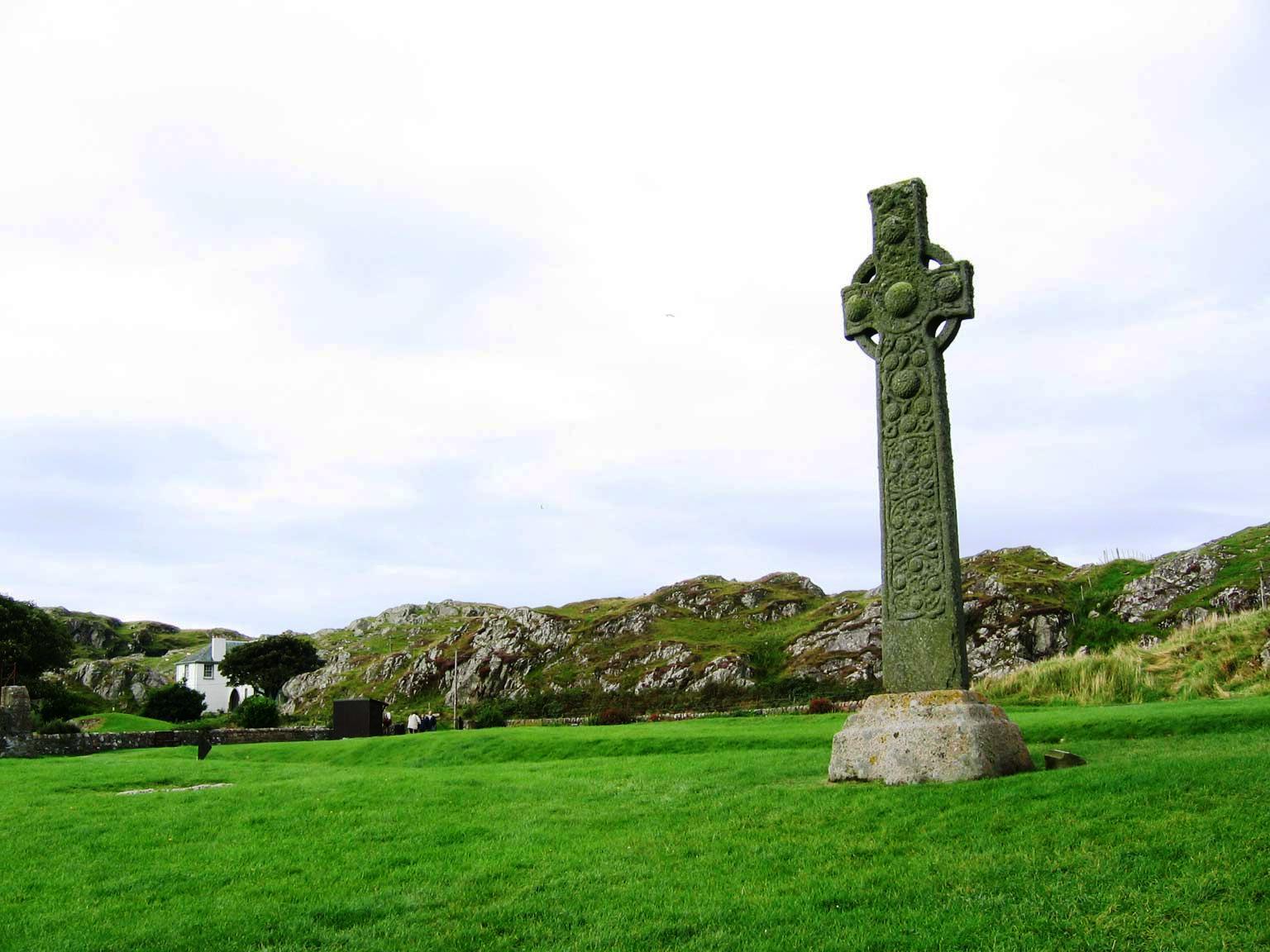 St. Martin's Cross, Isle of Iona