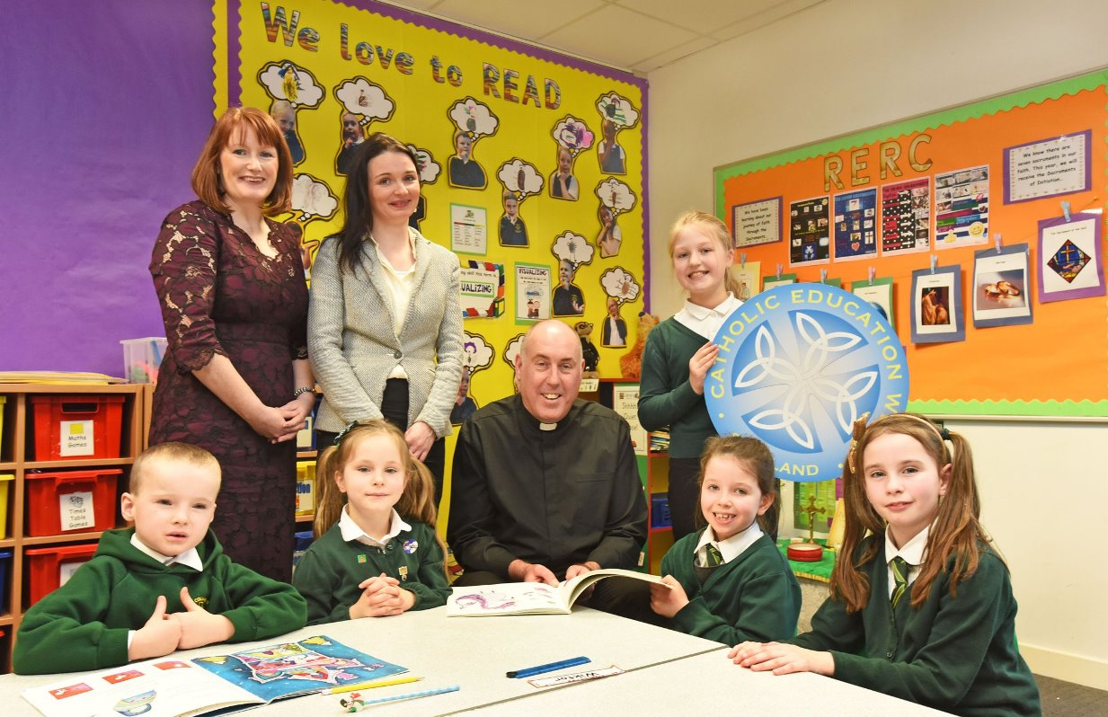 St. Columba's School launches Catholic Education week in Oban