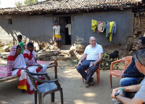 Alms-giving and Lent: Bishop Brian shares his experience in India.
