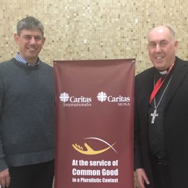 Bishop Brian reflects on the first day of the Caritas Conference in Beirut