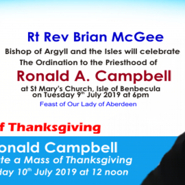 Priestly Ordination of Rev. Ronald A. Campbell