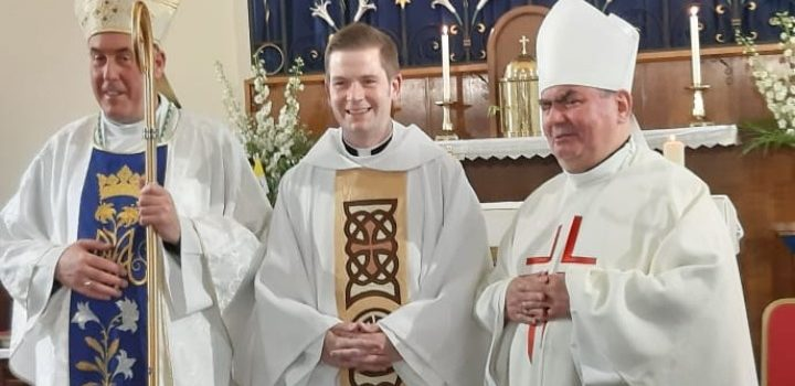 CONGRATULATIONS newly-ordained Father Ronald Campbell!
