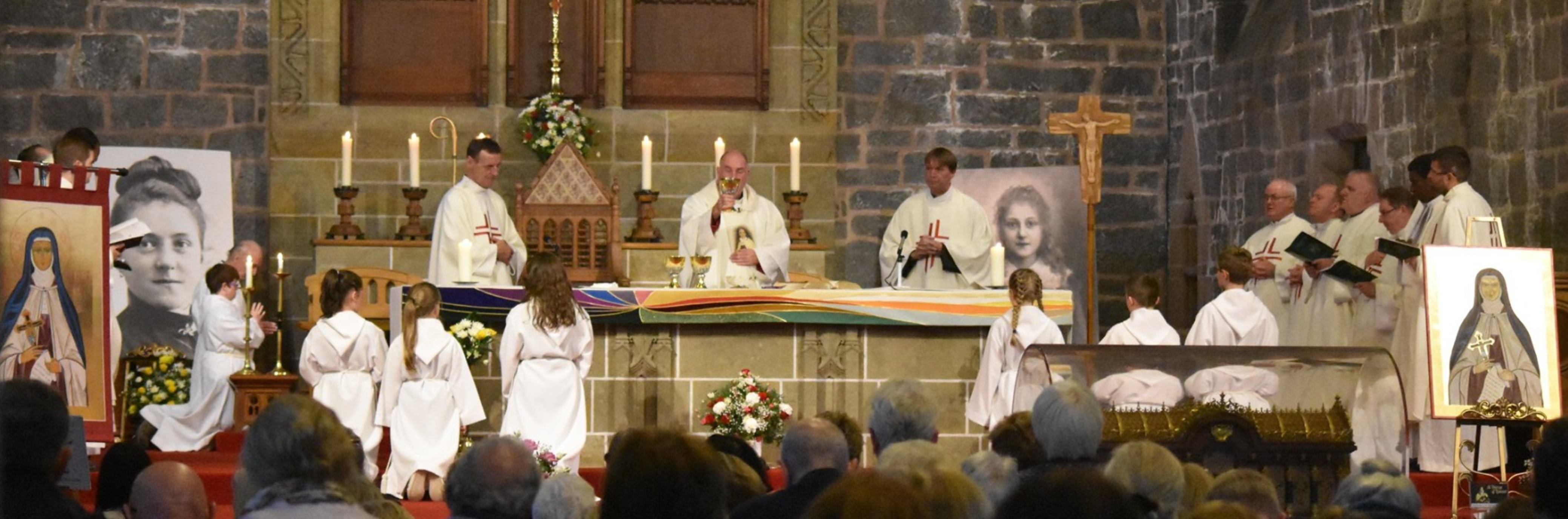 Visit of the Relics of St Thérèse