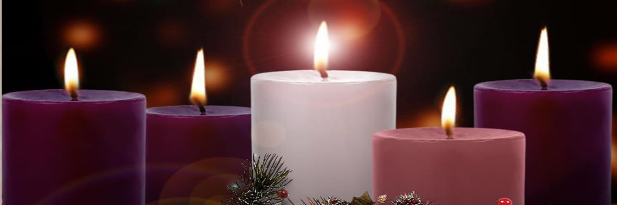Advent means 'Coming' in Latin.