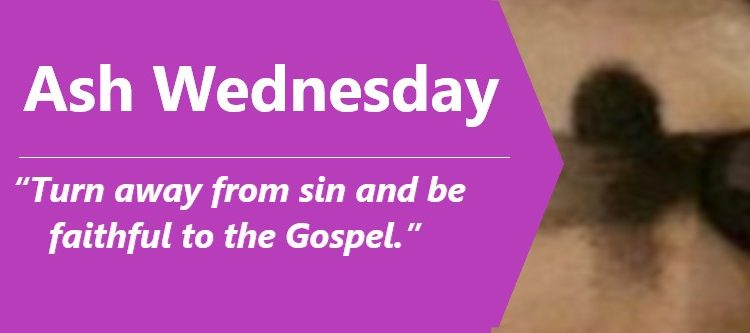Ash Wednesday Message from Bishop Brian