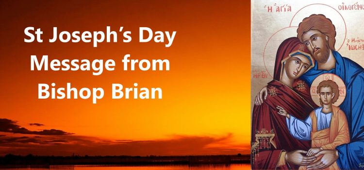 St Joseph's Day Message from Bishop Brian