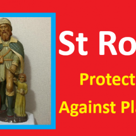 St Roch, Protector Against Plague