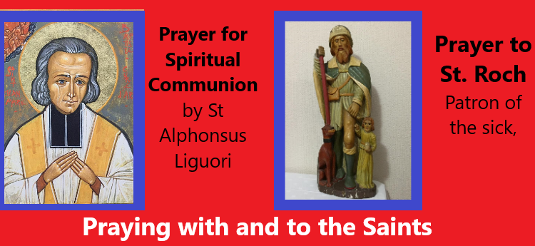 Praying with and to the Saints