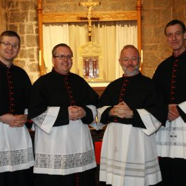 INSTALLATION OF NEW CANONS