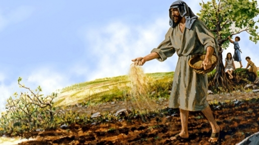 Faith as a grain of mustard seed.