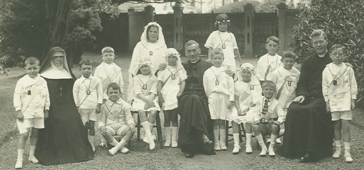 First Communions at Rothesay 1924.