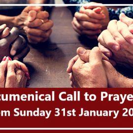 Ecumenical Call to Prayer