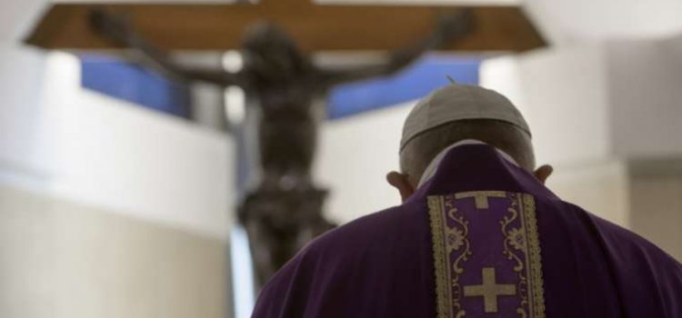 Message of the Holy Father Francis for Lent 2021