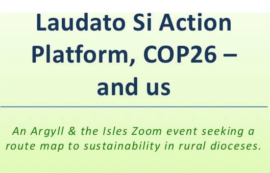 Laudato Si Action Platform, COP26 – and us
