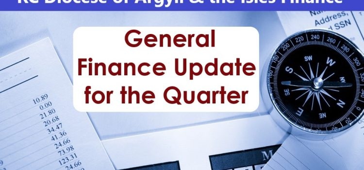 Diocese Finance Report for the Quarter Ended 31.8.2021