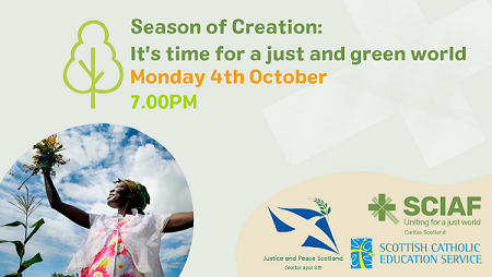 Season of Creation: it's time for a just and green world