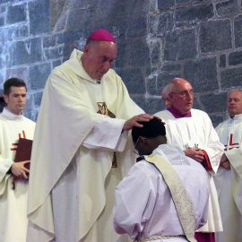 Bishop Brian Homily on the ordination Mass of Rev Emmanuel